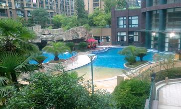 万科钱江湾游泳池